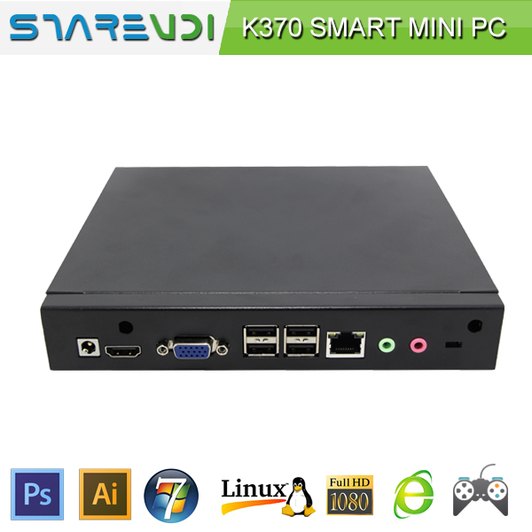 wholesale cost-effective mini pc barebone pc gigabit lan supports pxe diskless booting/1080p full hd/dual display mode