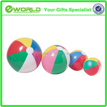 Top cheap custom logo wholesale beach ball branded plastic toy ball