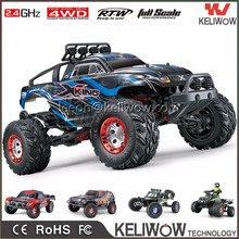 4WD 2.4G High Speed Radio Control RC Monster Truck 40-75km/h