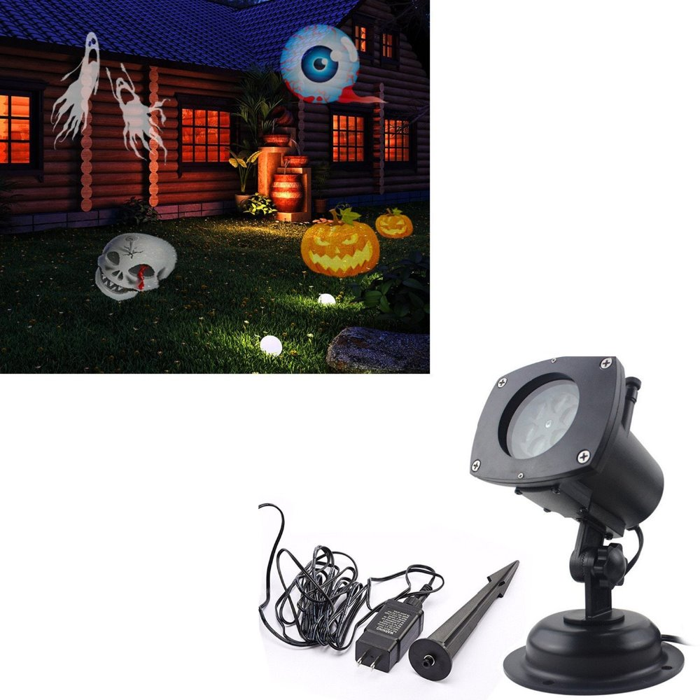 Halloween Decoration Ucharge Rotating Projection