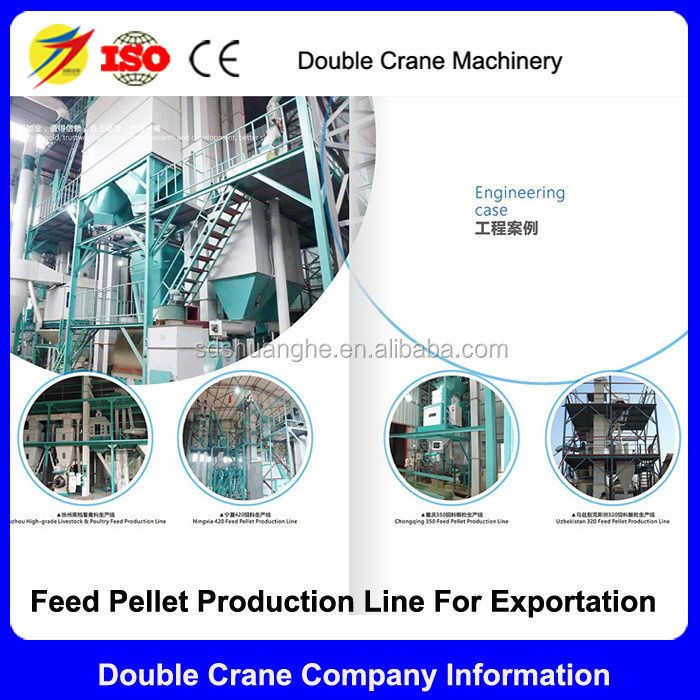 Complete Poultry Feed Production Line Animal Feed Pellet Processing Machine