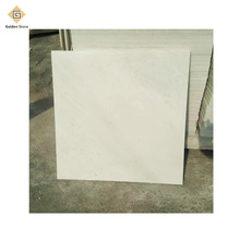 High demand polished white marble floor from factory