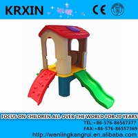 lovely Prodigy Plastic Slide and play house set