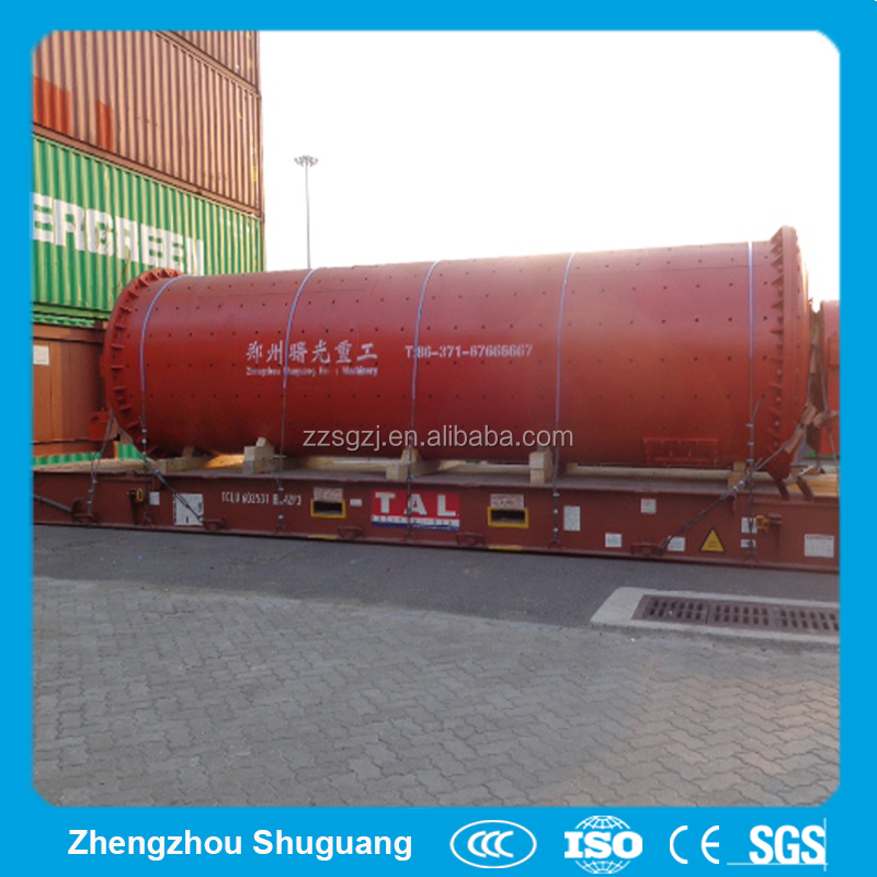 China Continuous Horizontal Ball Mill Machine Ultrafine Grinding Mill