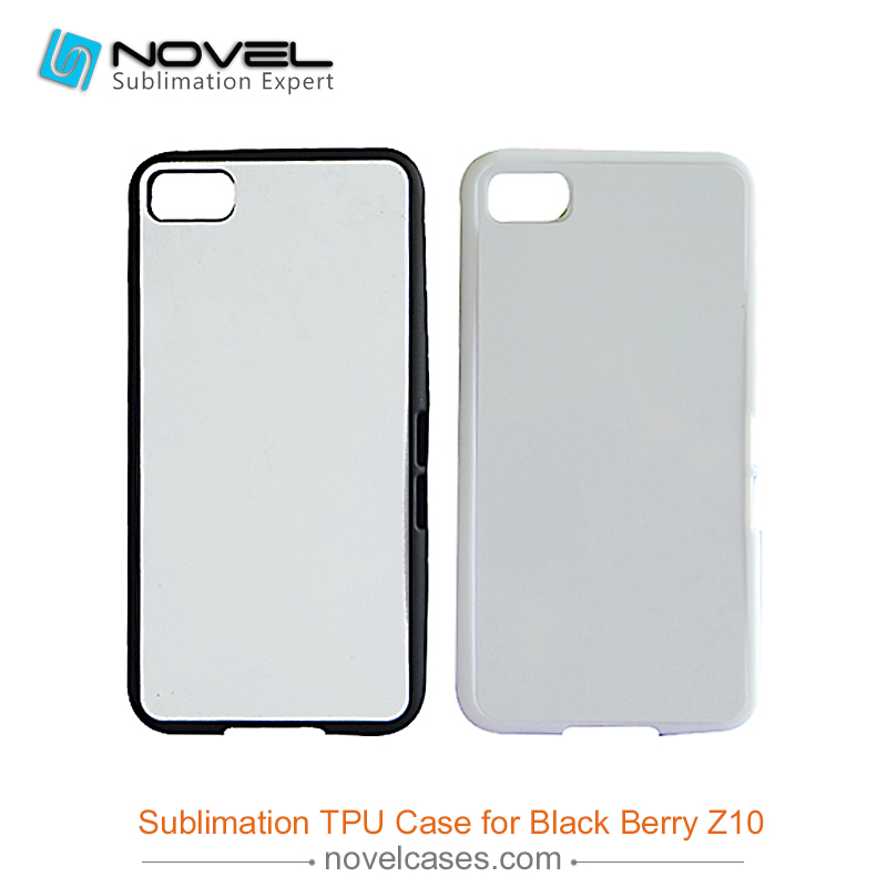 Prestige blank custom sublimation cell phone housing for Blackberry <strong>Z10</strong>