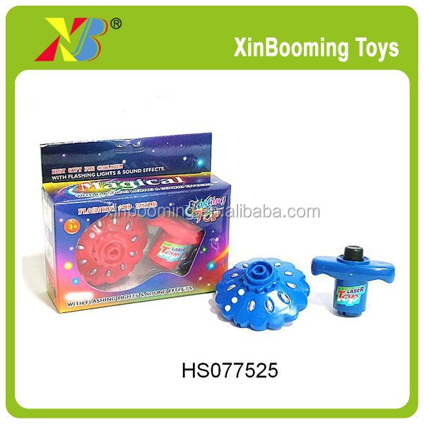 Best Selling Flashing Spinning Top Set Infrared Peg-Top