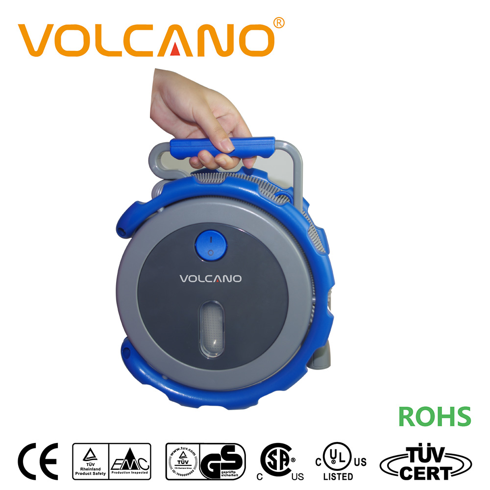 VOLCANO TURBO STYLE CAR VACUUM CLEANER, 12V DUST SUCKER