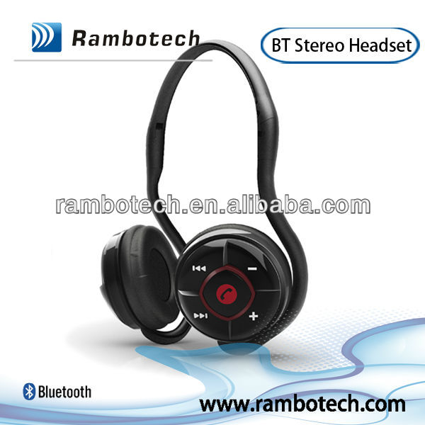 cheap Bluetooth Headphones Headset Handsfree Wireless Stereo With Mic For Running iPhone 4,iPhone 5