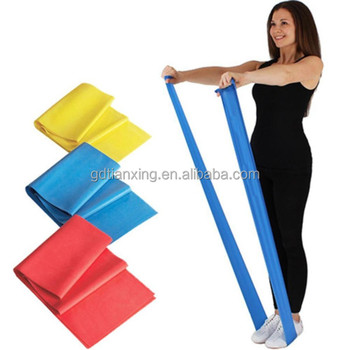 Elastic Custom Bungee Ballet bands Physical Exercise Resistance band