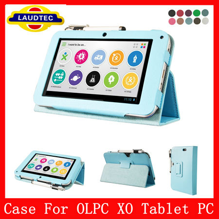 New Arrival 7 inch Kids Leather Case For OLPC XO Tablet PC
