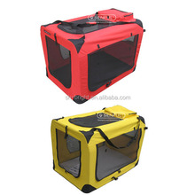 Folding Pet Soft Crate, High Quality Folding Pet Soft Crate