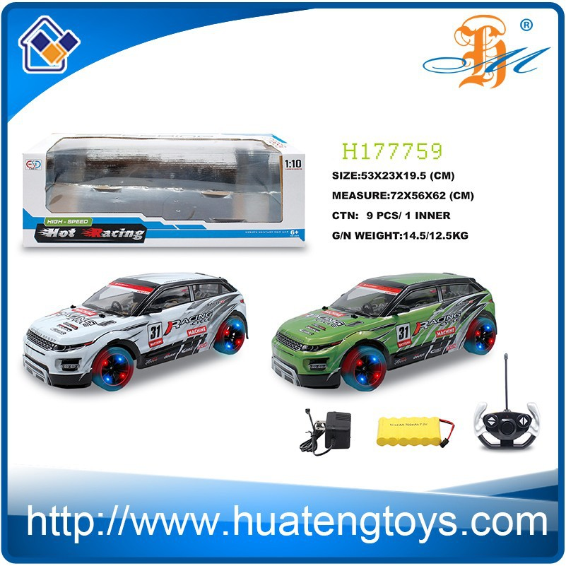 rc car 1/10 scale 4ch high speed drift car with a variety of models