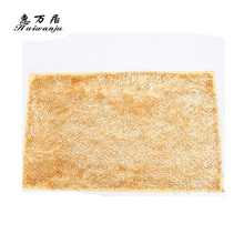 Top grade different patterns decorative chenille carpet anti slip rug