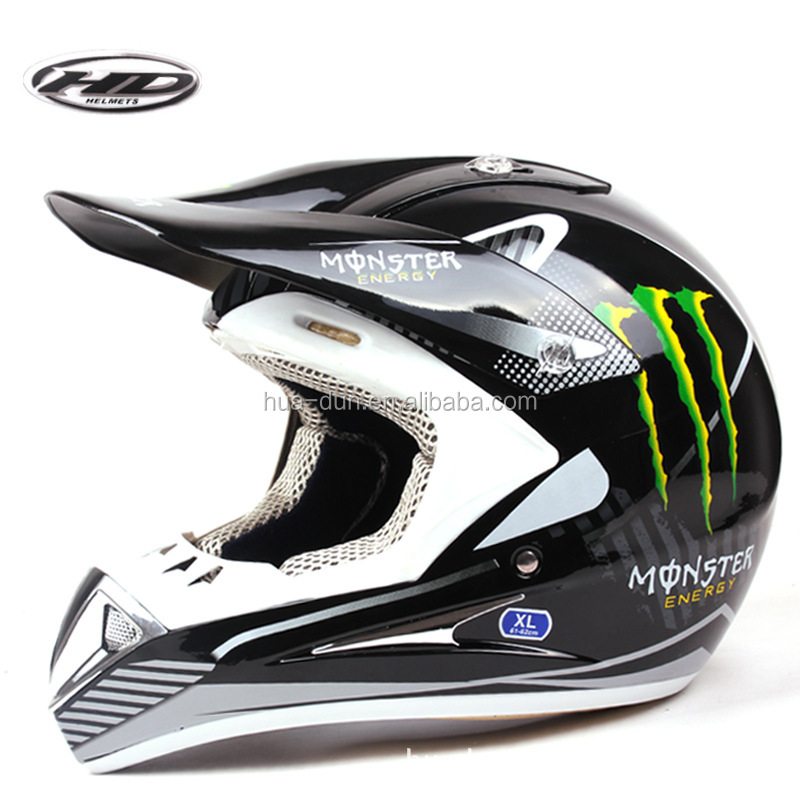 Hot sale and new style models cross helmet good quality off-road helmet