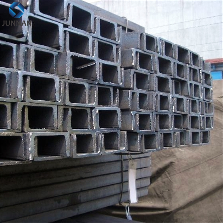hot rolled universal beam steel channel iron U channel beam size and length 140x58 12M
