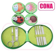 OEM bee manicure set /low price manicure kit/animal case set
