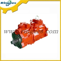 factory direct sale Excavator hydraulic parts hydraulic pump assy / hydraulic main pump used for Komatsu PC56-7