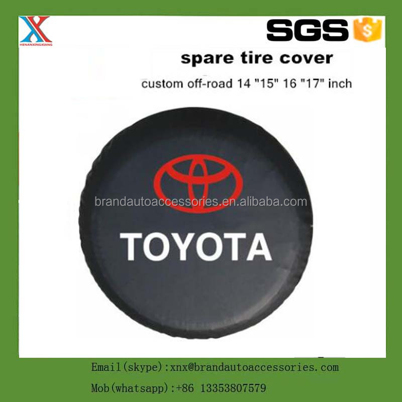 "HOT SALE high quality car modified PVC spare tire cover custom off-road 14 ""15"" 16 ""17"" PVC spare wheel cover"