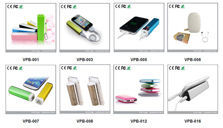 CK-005 2018 power bank, new custom logo 4800mAh power bank with suction cups