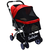 four wheels luxury pet stroller in fashion and popular from Guangdong China.small animal stroller dog trolley