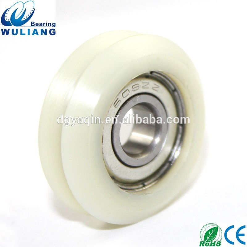 sliding door roller wheel 608z v groove wheel for sliding gates