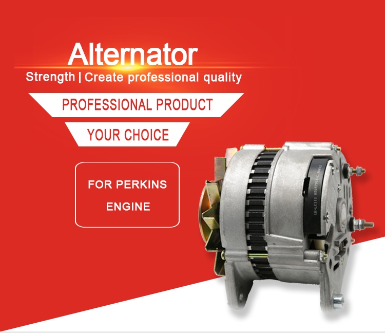Weltake OEM 1447634M9114v 45A Generator Engine Spare Parts Alternator Assy Agricultural MF 230 240 Tractor Alternator Supplier