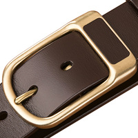 Top Quality Custom Men's Real Leather Belt
