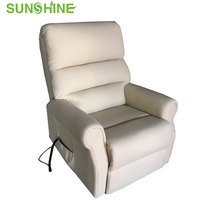 Hot Sale Electric Power Leather Lift Chair Recliner Sofa With Remote Control For Living Room BS605
