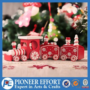 wooden christmas train table decoration christmas train decor wooden decoration - Christmas Train Decoration