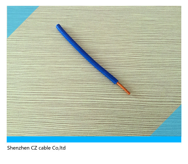 Low Voltage PVC Insulated Single Electric Copper Wire Flexible Cable