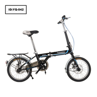 "Lightweight High Carbon Steel Folding Bike 16"" 14"" Cheap High Quality Folding Bicycle"