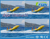 exciting commercial grade inflatable fly fish boat /banana boat fly fish / inflatable towable flying fish
