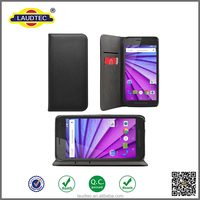 magnetic wallet flip leather case cover for Motorola moto G Turbo Edition