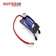 Car Bicycle tire Foot Pump High Presure single cylinder air pump inflator