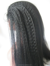 2015 factory new products full lace wig, human hair long wig, full machine made lace wig