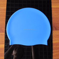 Factory Supply Simple Design Waterproof Silicone Swim Cap