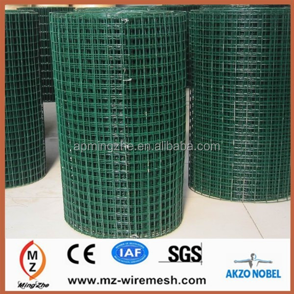 1''x1/2''electro galvanized after welded wire mesh for military defence explosion-proof
