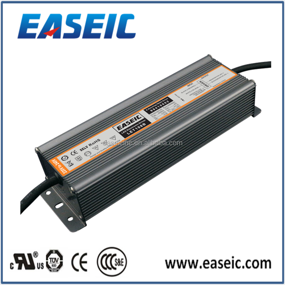 LET108B Constant Voltage 24V 100W 220-240VAC Led strip light Triac dimmable ul led driver
