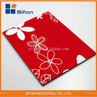 China Supplier Wholesale Aluminum Composite Panels Decorative Wall Cladding Panels