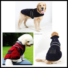 Promotional Logo Printed Reflective Wholesale Dog Clothes/dog clothes patterns