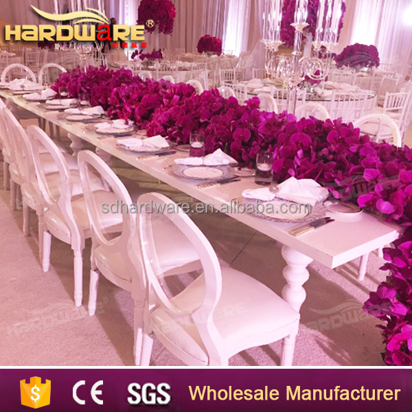 painting wedding banquet hall used tables