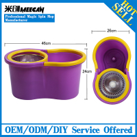 kitchen accessories hand press two fuctions microfiber topoto swift microfiber spin mop