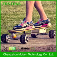 Surfing on land off road 4 wheels long board airwheel m3 electric powered skateboard