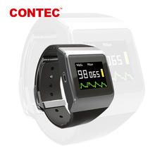 Contec CMS50K heart rate monitor cổ tay pedometer xem