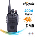 Chierda CD-D200 TDMA 2 Slots Mini Handheld IP66 Waterproof DMR Digital radio Transceiver