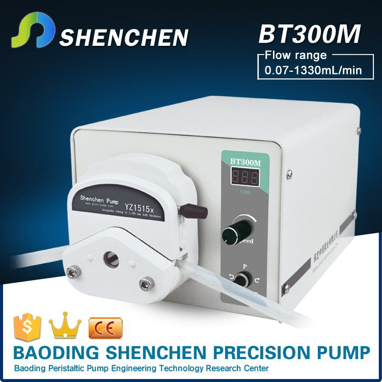 Manual water peristaltic pump