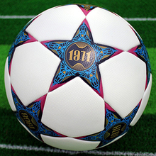 New Promotion Design Soccer Ball PU Hand stitched Football