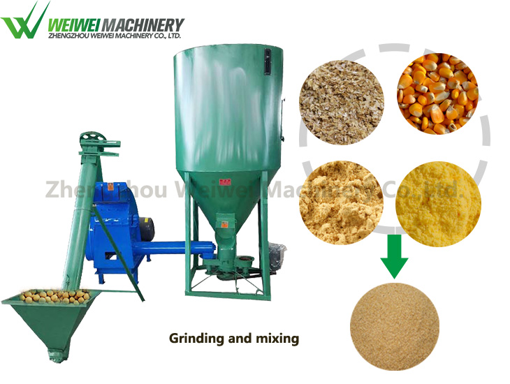 Poultry feed mill equipment