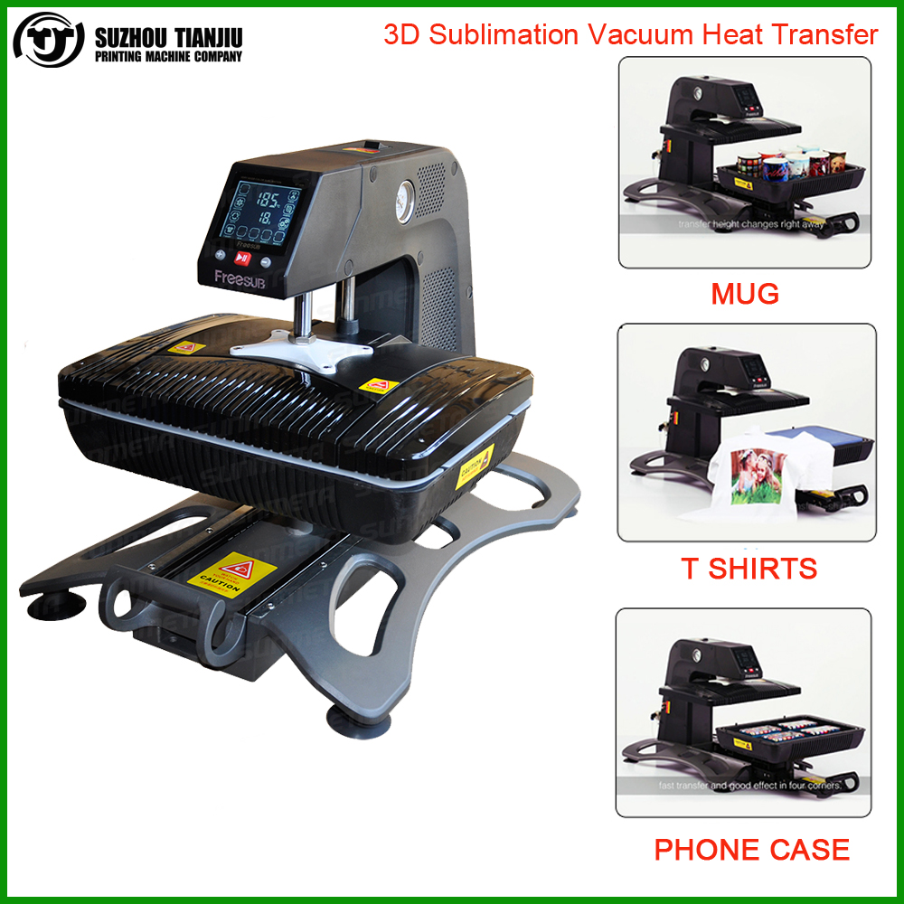 Automatic 3d Sublimation Digital T Shirt Printing Machine