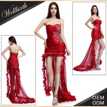 OEM Custom Alibaba China 2015 Manufacturer Wholesale Elegant Party Transparent Best Ladies Long Evening Party Wear Gown